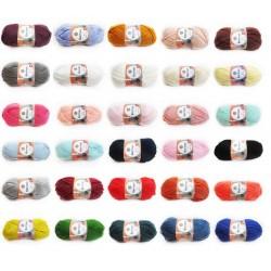 Kartopu No.1 Anti-Pilling, 100g, Babygarn, Universalgarn, 30 Farben, Strickgarn, Stricken, Wolle, Strickwolle, Häkeln
