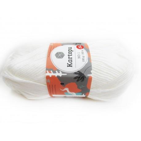 Kartopu No.1 Anti-Pilling, 100g, Babygarn, Universalgarn, 30 Farben