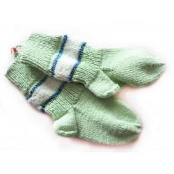 Kindersocken, Gr. 20-21 (Fußlänge 13,5cm), grün