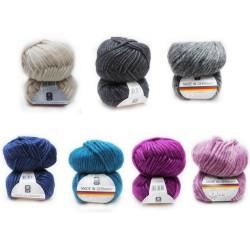 H&W Made in Germany Städtische Vielfalt, 50g, 85% Wolle