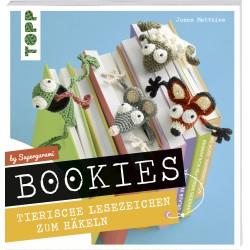 Bookies - Tierische Lesezeichen zum Selbsthäkeln by Supergurumi, TOPP Verlag
