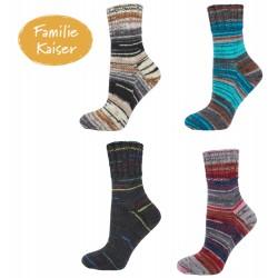 """myboshi Sockenwolle """"Familie Kaiser"""" Lieblingsfarben, 100g, Sockenwolle"""