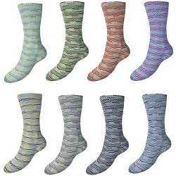 H&W Comfort Mosaik Sockenwolle 120, 100g, Sockenwolle, Sockengarn, günstige Wolle, Strumpfwolle, Wolle zum Stricken
