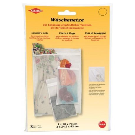 Wäschenetze, 3 Stück, Kleidungsschutz, Kleiderschutz, Schonung, Textilien