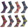H&W Comfort Sockenwolle 920 Happiness, 100g, Strickgarn, Strickwolle, Wolle zum Stricken