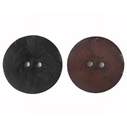 Knopf, 45mm, in Holzoptik, verschiedene Farben, Knöpfe, Kunststoffknopf