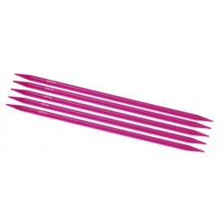"""KnitPro 5er - Stricknadel-Spiel mit Doppelspitze """"Spectra"""", Stärke: 10mm, verschiedene Längen"""