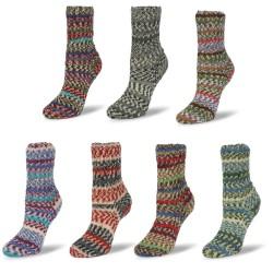 Rellana Flotte Socke Scandinavia, 100g, Sockenwolle, Strickgarn, Strickwolle, Wolle zum Stricken, Sockengarn, Häkeln