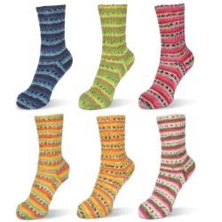 Rellana Flotte Socke Wool Free Bamboo, 100g, Sockenwolle, Strickgarn, Strickwolle, Stricken, Sockengarn, Bambus, vegane Wolle