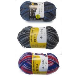 Schachenmayr Regia Color, 50g, Strickgarn, Strickwolle, Wolle zum Stricken, Sockengarn