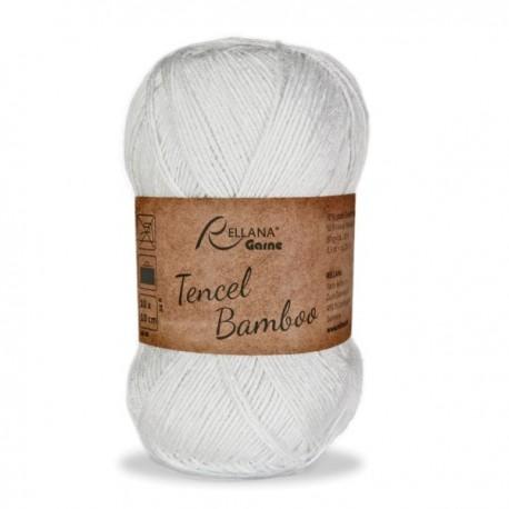 Rellana Tencel Bamboo, 50g, 50% Lyocell, 50% Bambusviskose, Sommergarn, Strickgarn, Strickwolle, Wolle zum Stricken