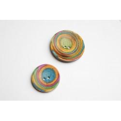 """KnitPro Holzknopf """"Curved Round"""", verschiedene Größen"""
