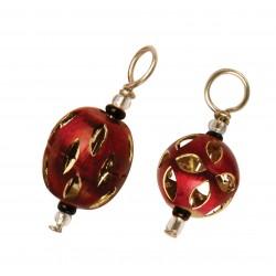 "KnitPro Maschenmarker ""Red Gold"""